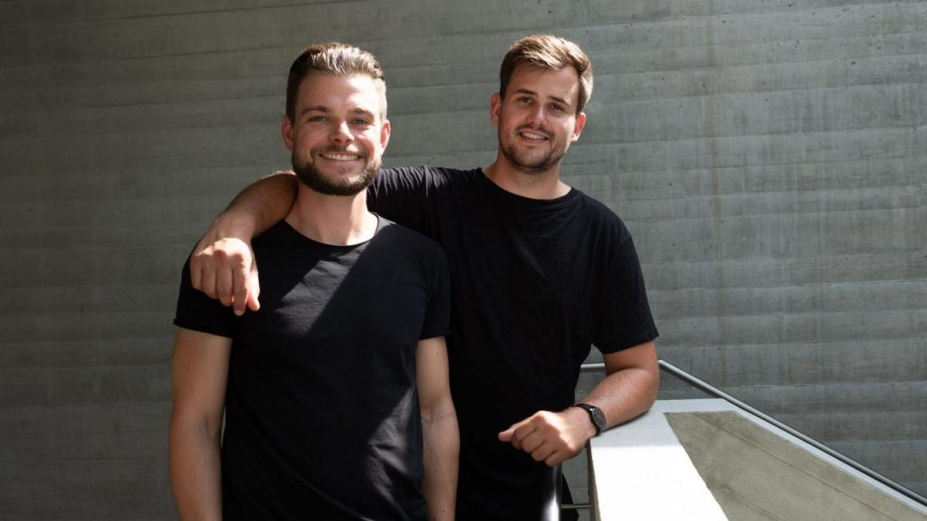 Foto von Christian und Michel