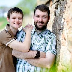 Foto von Frau mit Mann
