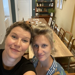 Foto von Linda und Nadine