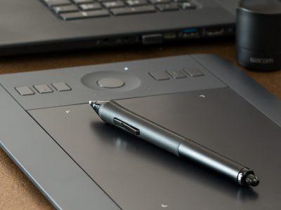Tablet und Stift