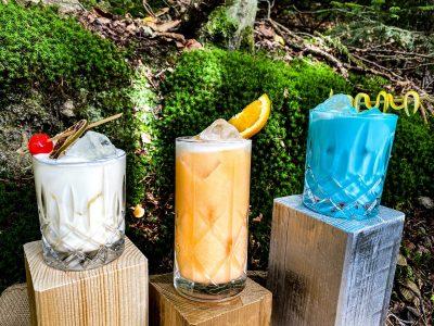 Drei Cocktails